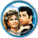 Grease - Edible Cake Topper - 10'' round