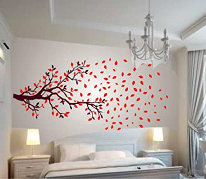 Decals Design U0027Lovely Autumn Treeu0027 Wall Sticker (PVC Vinyl, 60 Cm X