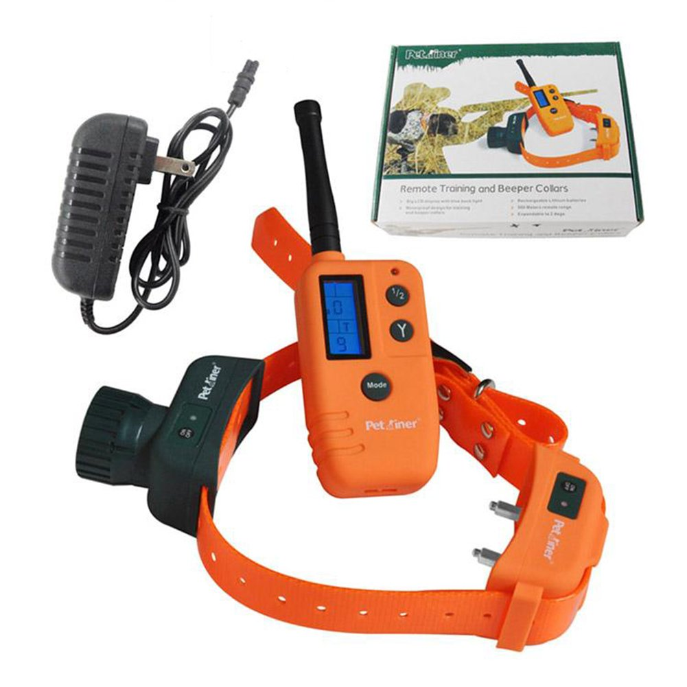 Training Collar Waterproof and Rechargeable Remote Beeper LCD Pet Dog Remote Hunter Beeper Trainer Collar XG-9310
