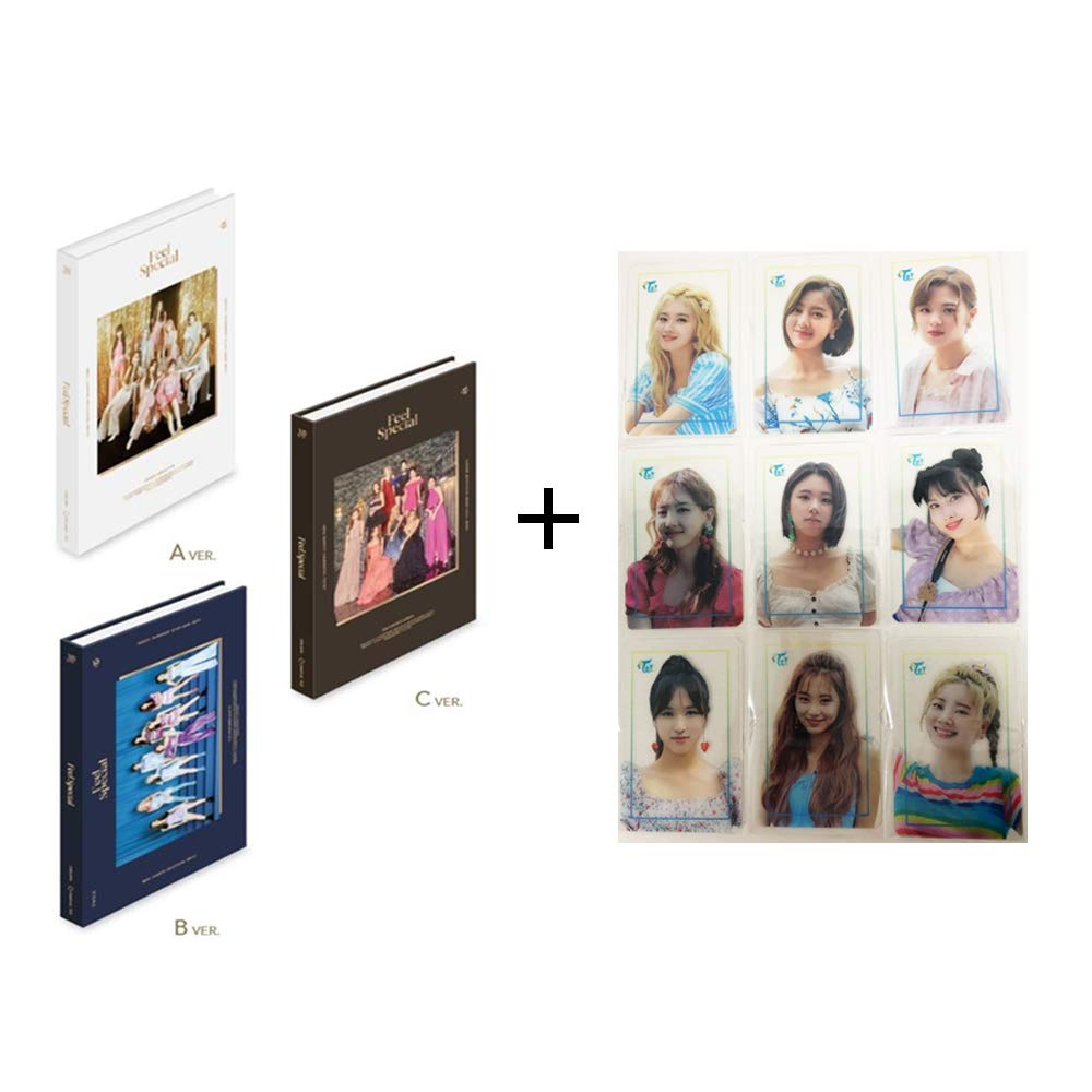 Twice 8th Mini Album Feel Special and Twaii's Shop Official Photocard (Incl. Pre-Order Benefits, One Random Arcylic Photocard) (B Ver) by Twice