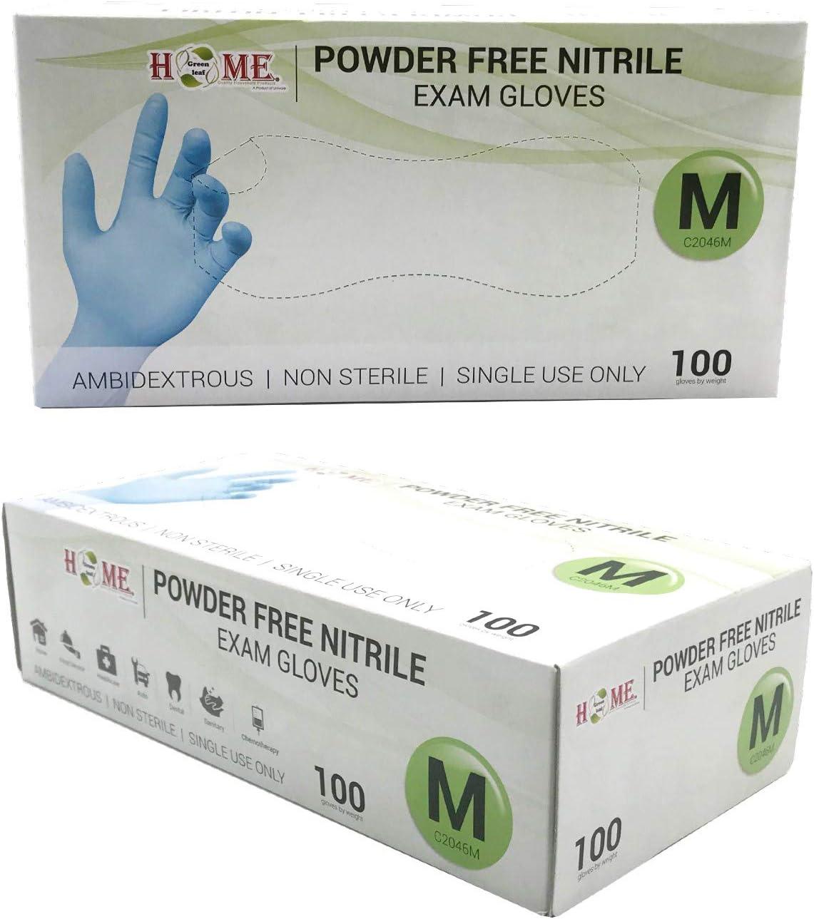 Vinyl Gloves FDA Compliant 4 packs Fast USA Shipping