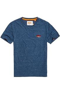 07d6dc99 Amazon.com: Superdry Men's Orange Label Low Roller Short Sleeve T ...