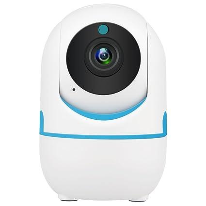 DEFEWAY 1080P Cámara IP WiFi, Cámara de Vigilancia con Visión Nocturna, Detector de Movimiento