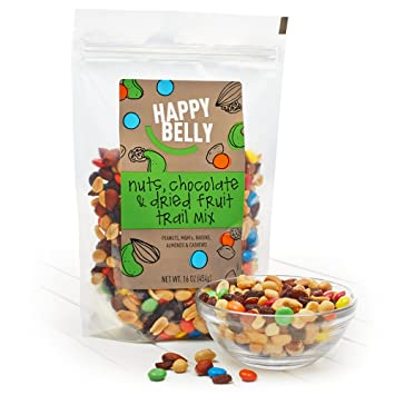 Happy Belly Chocolate & Dried Fruit Trail Mix, 16 oz