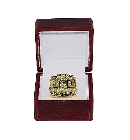 3cc433d0c LOUISIANA STATE UNIVERSITY (LSU Tigers) 2003 NCAA BCS NATIONAL CHAMPIONS Vintage  Rare Collectible Gold