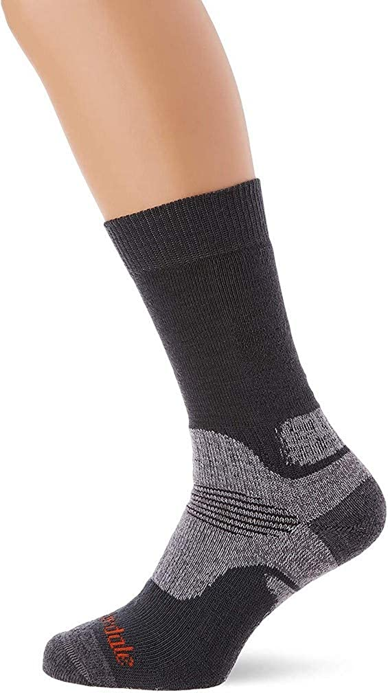 Bridgedale mens Hike Midweight Boot Height - Merino Endurance Socks