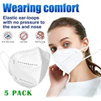 Karooch 5PC Face Másk 6-Layer Dust Másk PM2.5 Respitator Comfortable Reusable Safety Mouth Anti-Pollution Dustproof Face Mouth Respitator for Gérms Bicycle Bike Outdoor