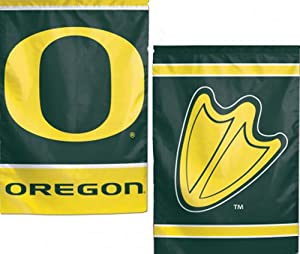 Oregon Ducks NCAA 2 Sided 12.5 x 18 Inch Garden Flag