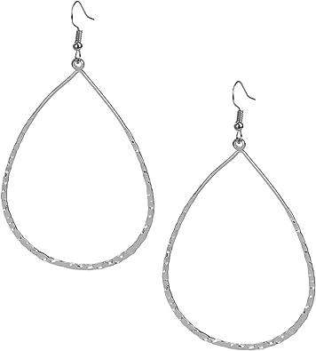 Arrival High Quality New Brand Tear Drop Hook Jewelry Hoop Earrings For Women