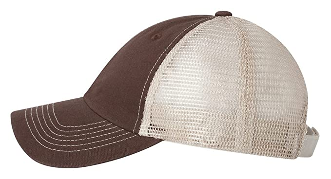 30a4eb28194 Sportsman Headwear 3100 Contrast Stitch Mesh Cap Black Gray at ...