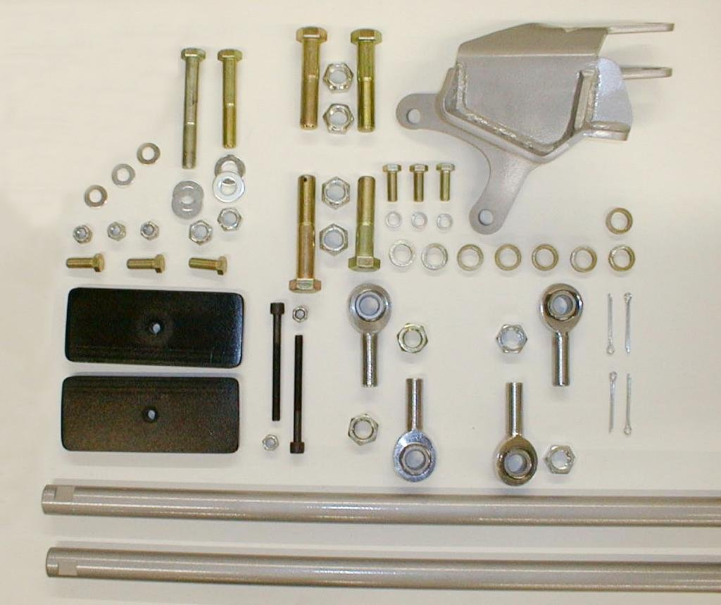 M.O.R.E. 9930Z Steering Correction Kit for YJ Wranglers by Omer