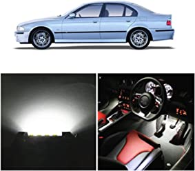WLJH 18pieces Ice Blue Super Bright 2835 Chip Bulb Error Free Canbus Car LED Interior lighting Package Kit For E92 3 Series Coupe 325i 330xi 335d 335i 335i xDrive 2006-2013