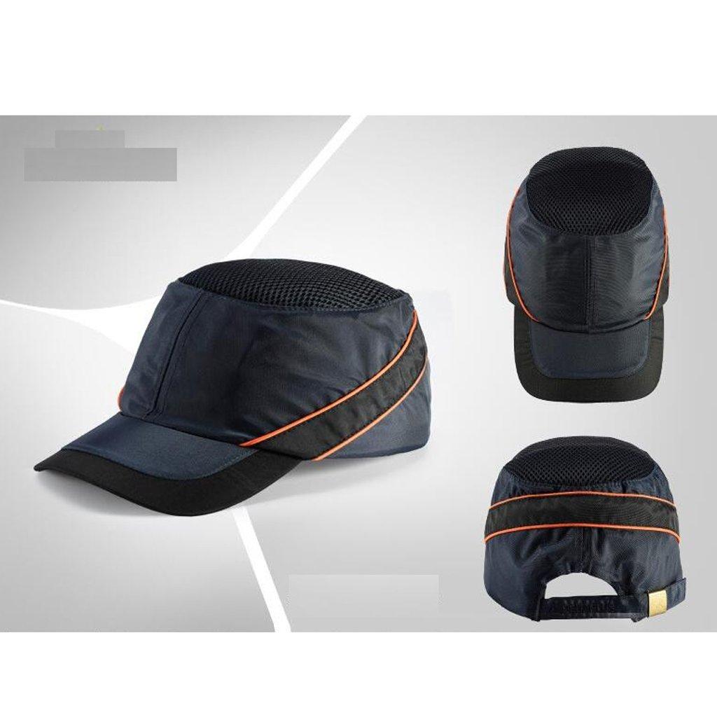 Flameer PE Bump Caps Safety Helmet Navy Blue by Flameer (Image #4)