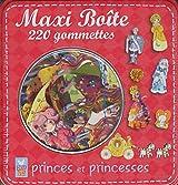 Maxi boîte : Princes et princesses : 220 gommettes