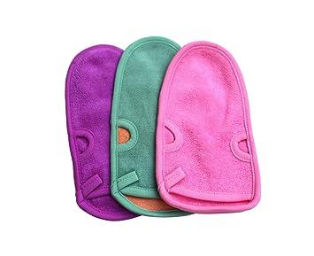 Upstore 3 guantes de goma para la espalda de 20 x 11,4 cm para