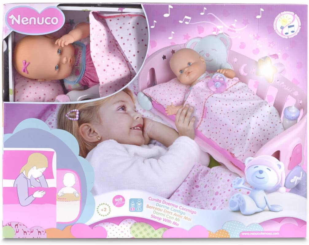 Nenuco - Cunita Duerme Conmigo (Famosa, 700007431): Amazon.es ...