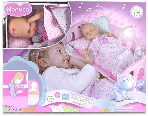 Nenuco - Cunita Duerme Conmigo (Famosa, 700007431): Amazon ...