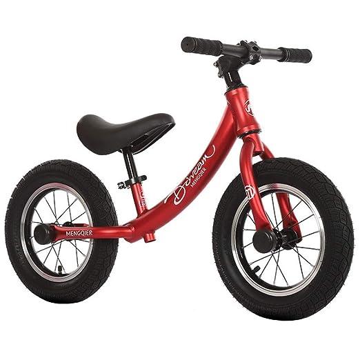 M-YN Bicicletas sin Pedales niños Bicicleta de Equilibrio, Primera ...
