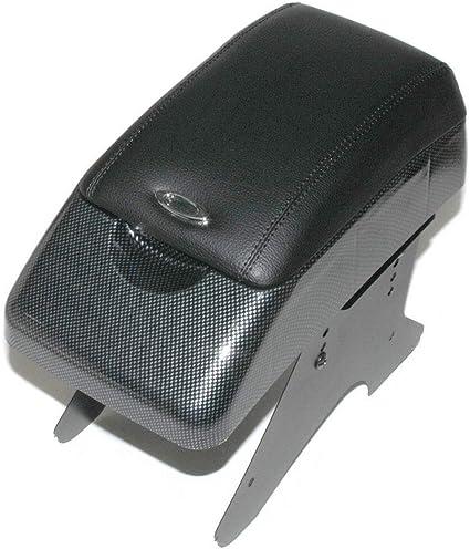 consola central caja de almacenamiento piel sint/ética gris Autohobby 48015 Reposabrazos central universal