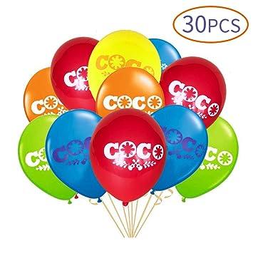Amazon.com: Yizeda - 30 globos de látex de coco ...