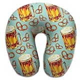 Scorpio Pretzel Food Support Travel Pillow Spa U SHAPE For Flying People