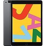 Apple iPad Late 2019 (10.2-Inch, Wi-Fi + Cellular, 128GB) - Space Gray (Latest Model) (Renewed)