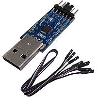 DSD TECH Convertidor USB a TTL con Chip CP2102 Compatible con Windows 7,8,10, Linux, Mac OS X