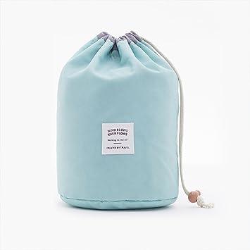 18230178ac7d Amazon.com : WIN Travel Makeup Bag, Waterproof Barrel Shaped ...