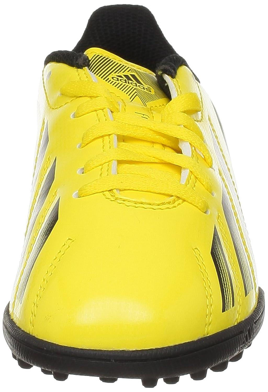adidas F5 Trx Tf J - Zapatillas de fútbol Niños, amarillo (VIVID YELLOW S13 / BLACK 1 / GREEN ZEST S13), 38