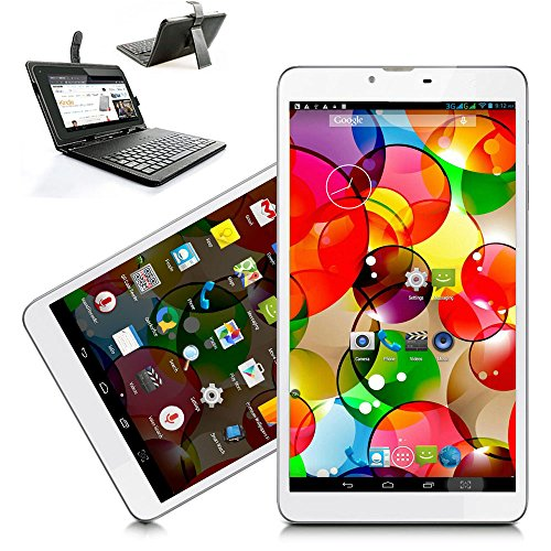Indigi® Android 4.4 Mega 7in 3G SmartPhone Phablet Tablet PC Free Keyboard Case