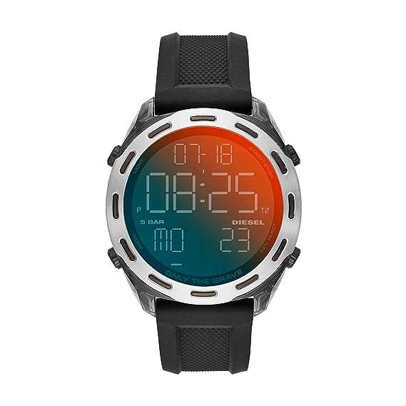 Diesel Reloj Hombre de Digital con Correa en Silicona DZ1893
