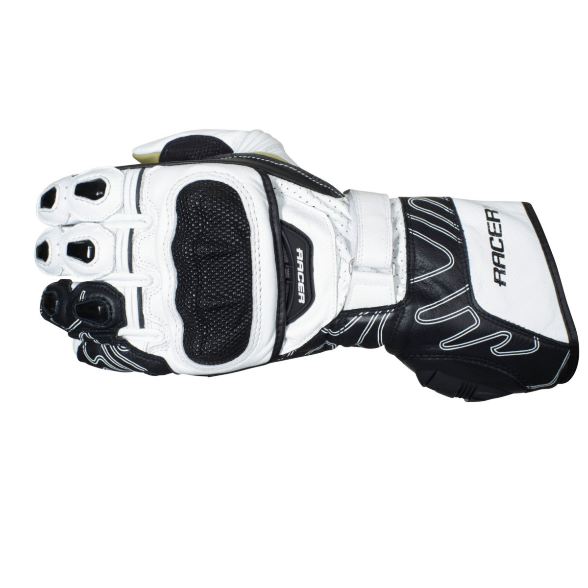 Racer High Speed 20393/Handschuhe L wei/ß