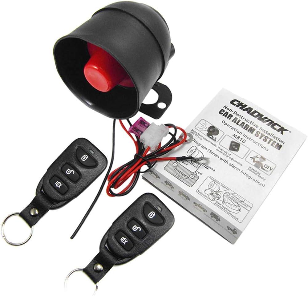 Comparativa sistemas de alarma para coche