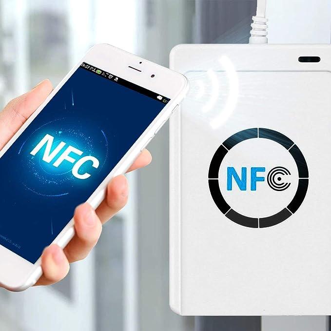 NFC Lector de tarjetas inteligentes sin contacto Tecnología ...