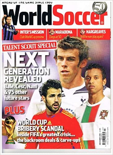 World Soccer Football Magazine - December 2010 - Vol.51 No.3