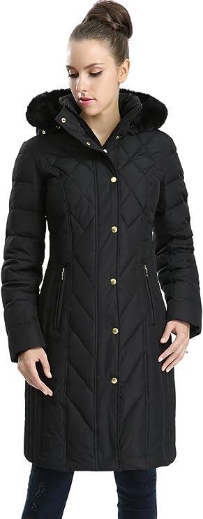 BGSD Womens Whitney Waterproof Down Puffer Coat