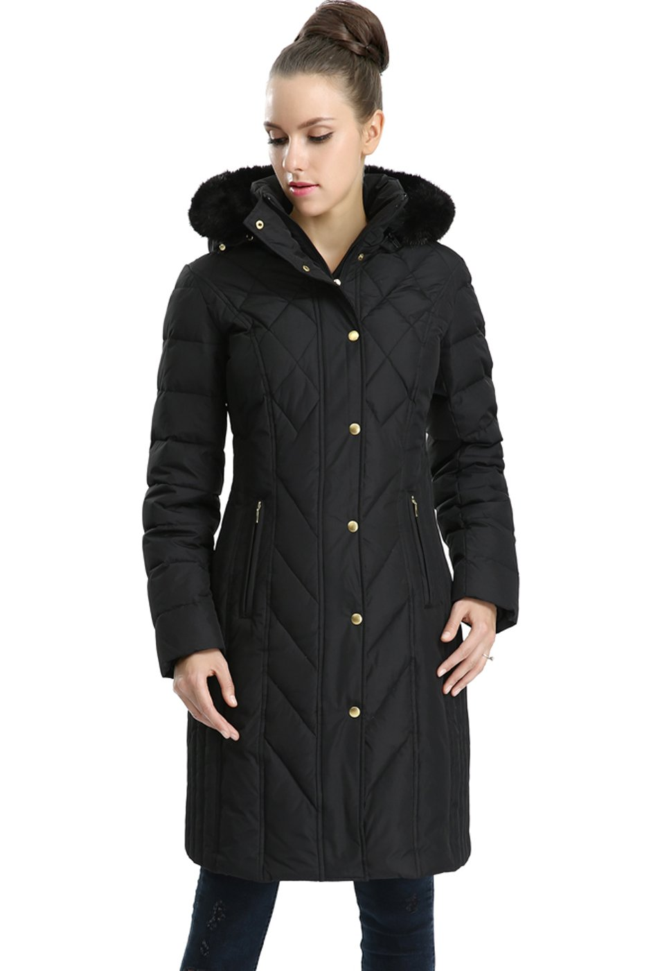 78a02a3d5fc BGSD Women s Addi Waterproof Down Parka Coat (Regular   Plus Size) product  image