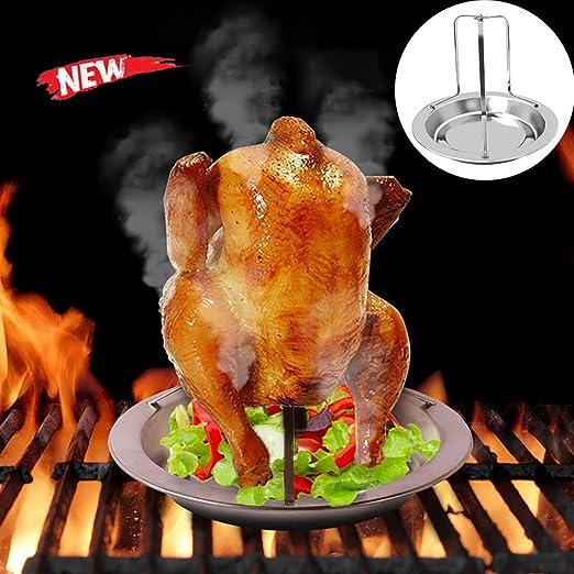 Asador de pollo a la parrilla y asador de acero al aire libre asador Turquía