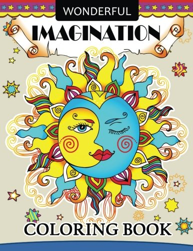 Wonderful Imagination coloring books: Adults Coloring Book Halloween,