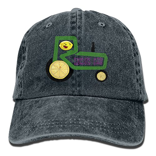 Lemon Cart Adult Adjustable Printing Cowboy Hat