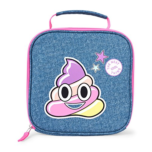 The Children's Place Big Girls' Lunch Box Set, Denim 01331, NO Size