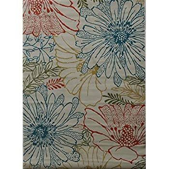 High Quality Indoor / Outdoor 5x8 Al Fresoc Daisies Rug By Shaw Living. Put Some Color  On Your Deck Or Patio Area. Al Fresco Rugs Area Color Fade Resistant And  Will ...