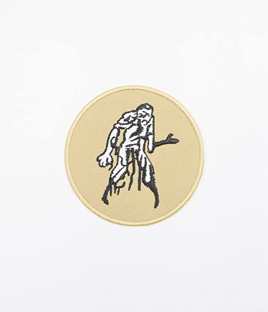 White Zombie Large Biker Jacket Back Sew on Hand Made Embroidered Patch Appliqu\u00e9