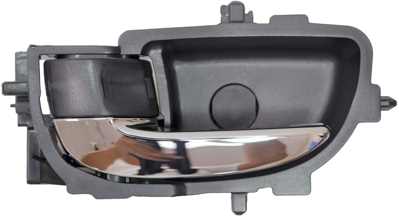 OEM Inside Interior Door Handle Black /& Chrome Driver Side LH for Nissan Truck
