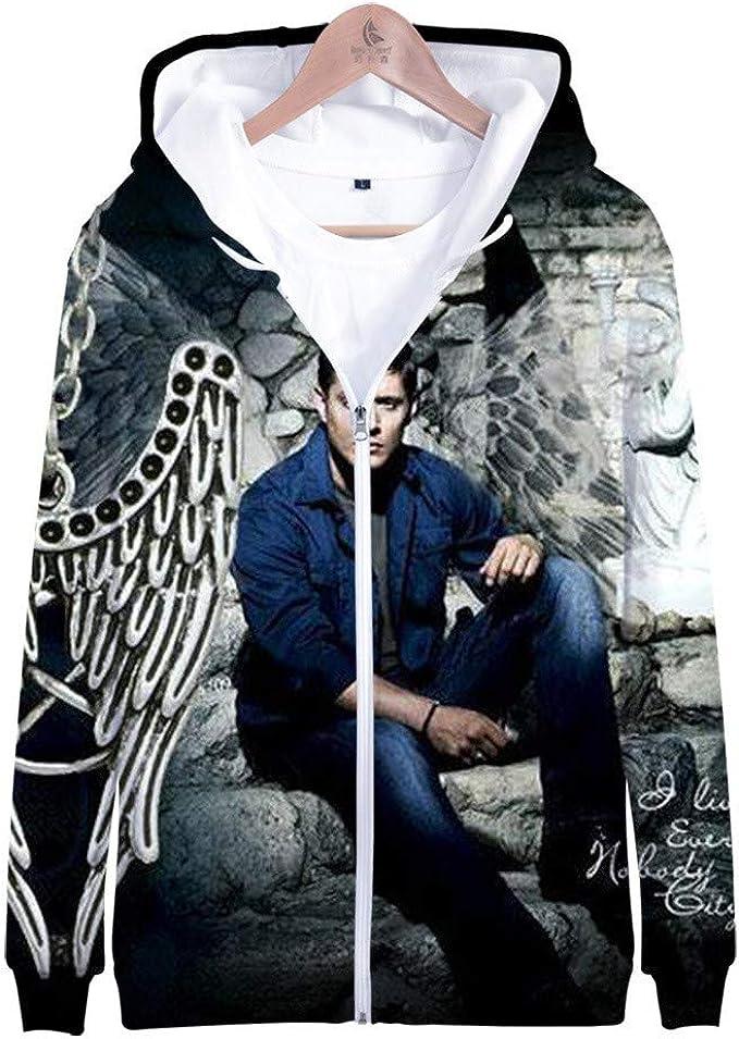 Supernatural Funny 3D Print casual Mens Womens Sweatshirt Pullover Hoodies Tops