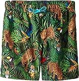 Dolce & Gabbana Kids Boy's Mid Swim Boxer (Big Kids) Blue Print 8
