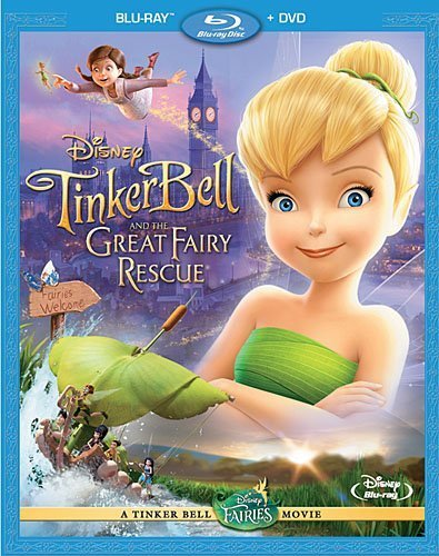 Tinker Bell and the Great Fairy Rescue (Two-Disc Blu-ray/ DVD Combo) by Walt Disney Studios Home Entertainment