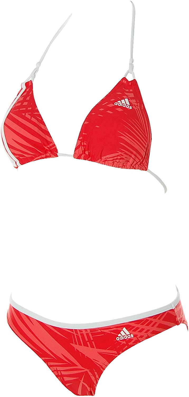 Me preparé Inconsistente monitor  adidas Damen Triangel Bikini Cup B und C (36, Rot): Amazon.de: Bekleidung