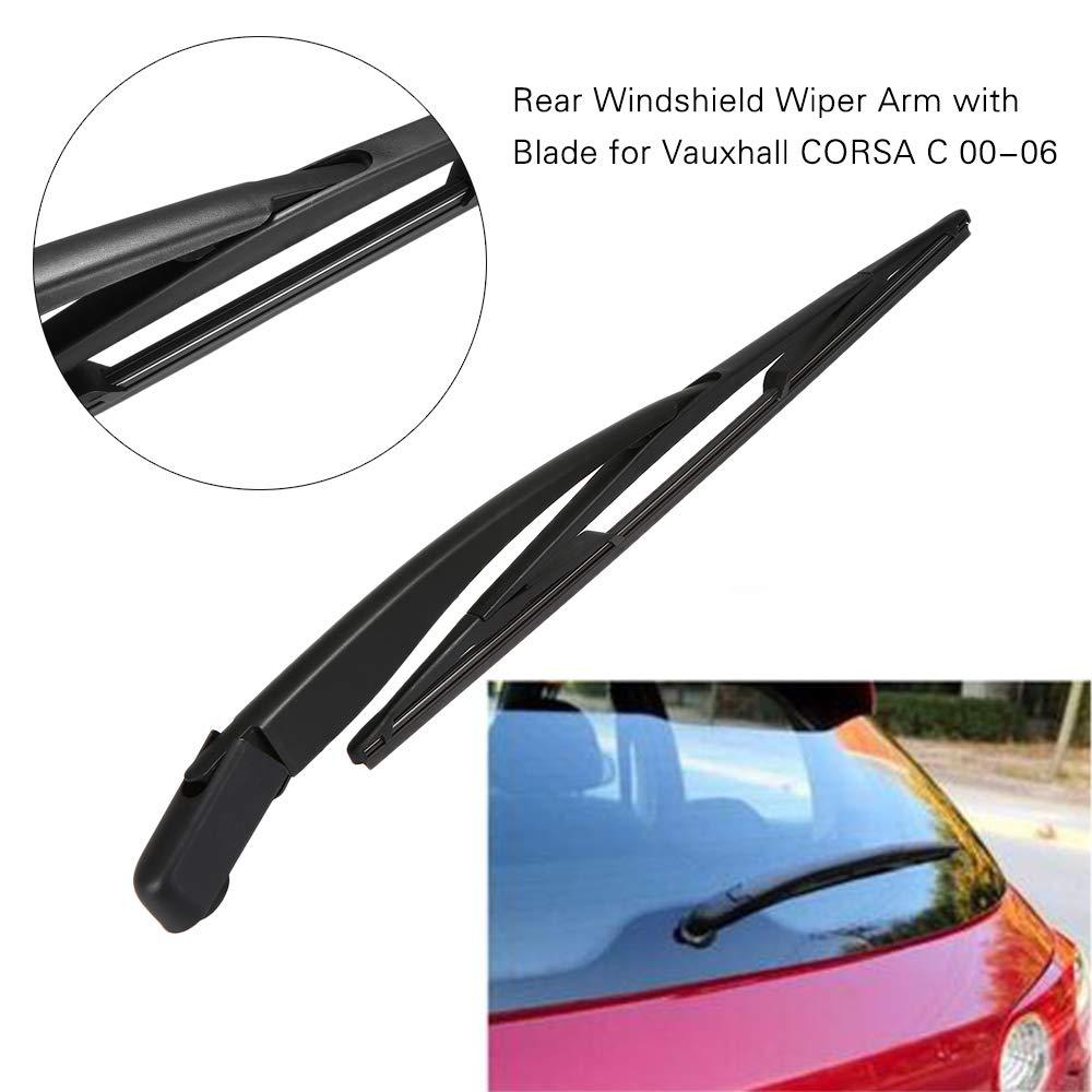 KKmoon - Brazo limpiaparabrisas Trasero con escobilla de Repuesto para Opel Corsa C 00-06: Amazon.es: Coche y moto