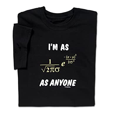 Amazon.com: ComputerGear Funny Sayings Math T Shirt Equation ...
